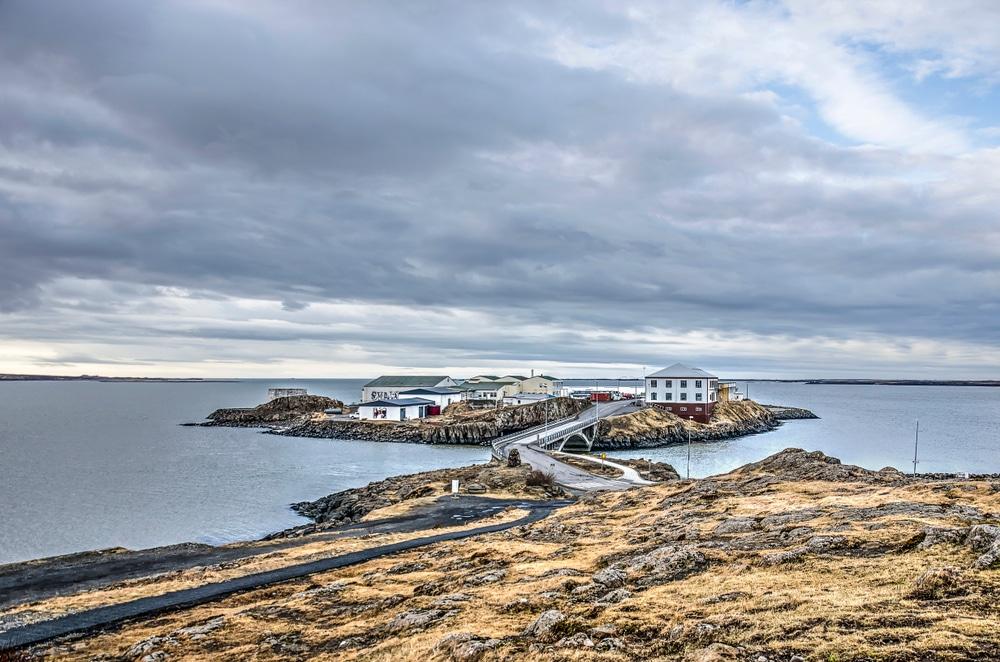 Port de Borganes, Islande