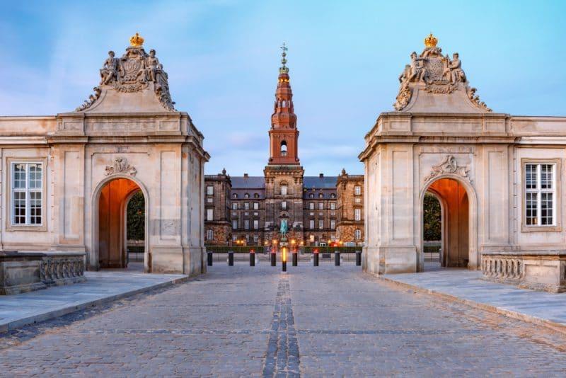 Château de Christiansborg, Copenhague