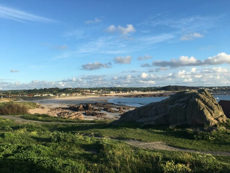 Cobo Bay, Guernesey
