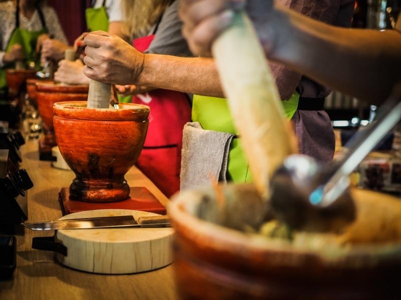 Apprendre la cuisine asiatique