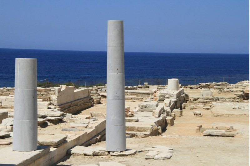 Apollon et Artémis, temple, Despotiko