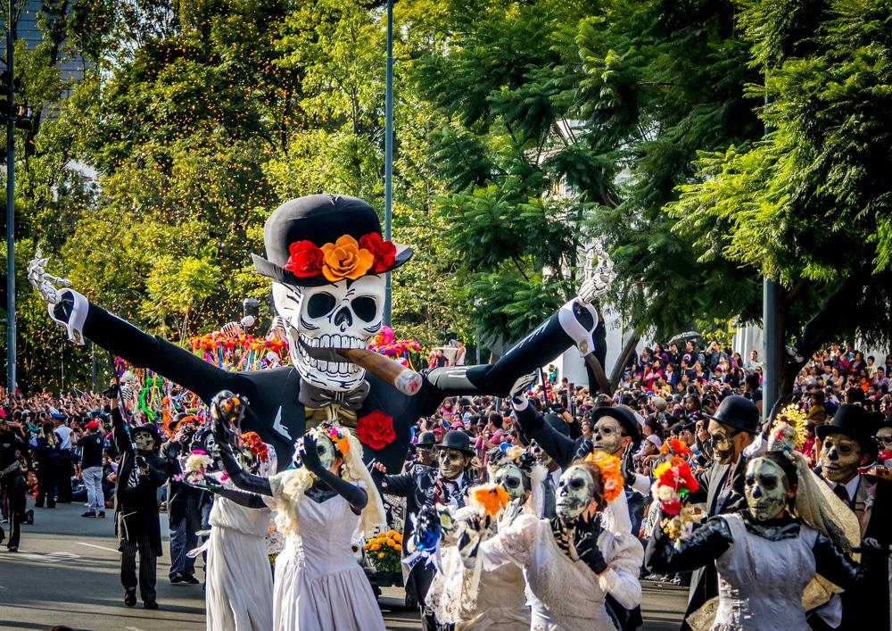 Dia de los muertos, Halloween, Mexico