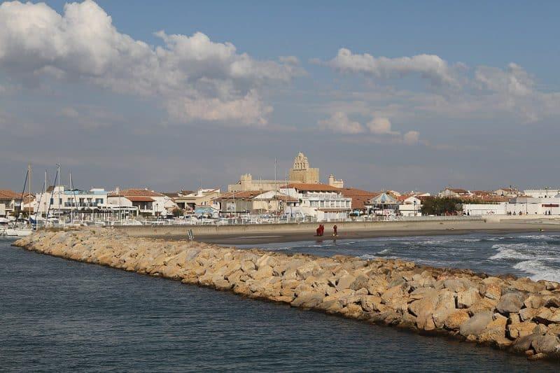 Digue de la mer, Saintes-Maries-de-la-Mer
