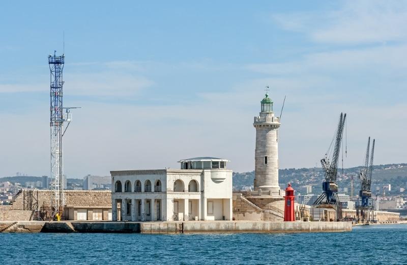 La Joliette, docks à Marseille