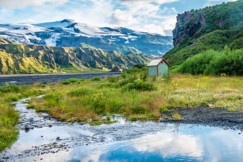 Volcan Eyjafjallajökull, Islande