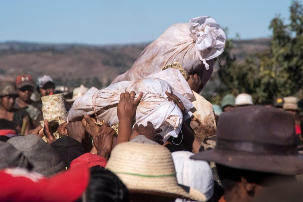 Famadihana, Halloween, Madagascar