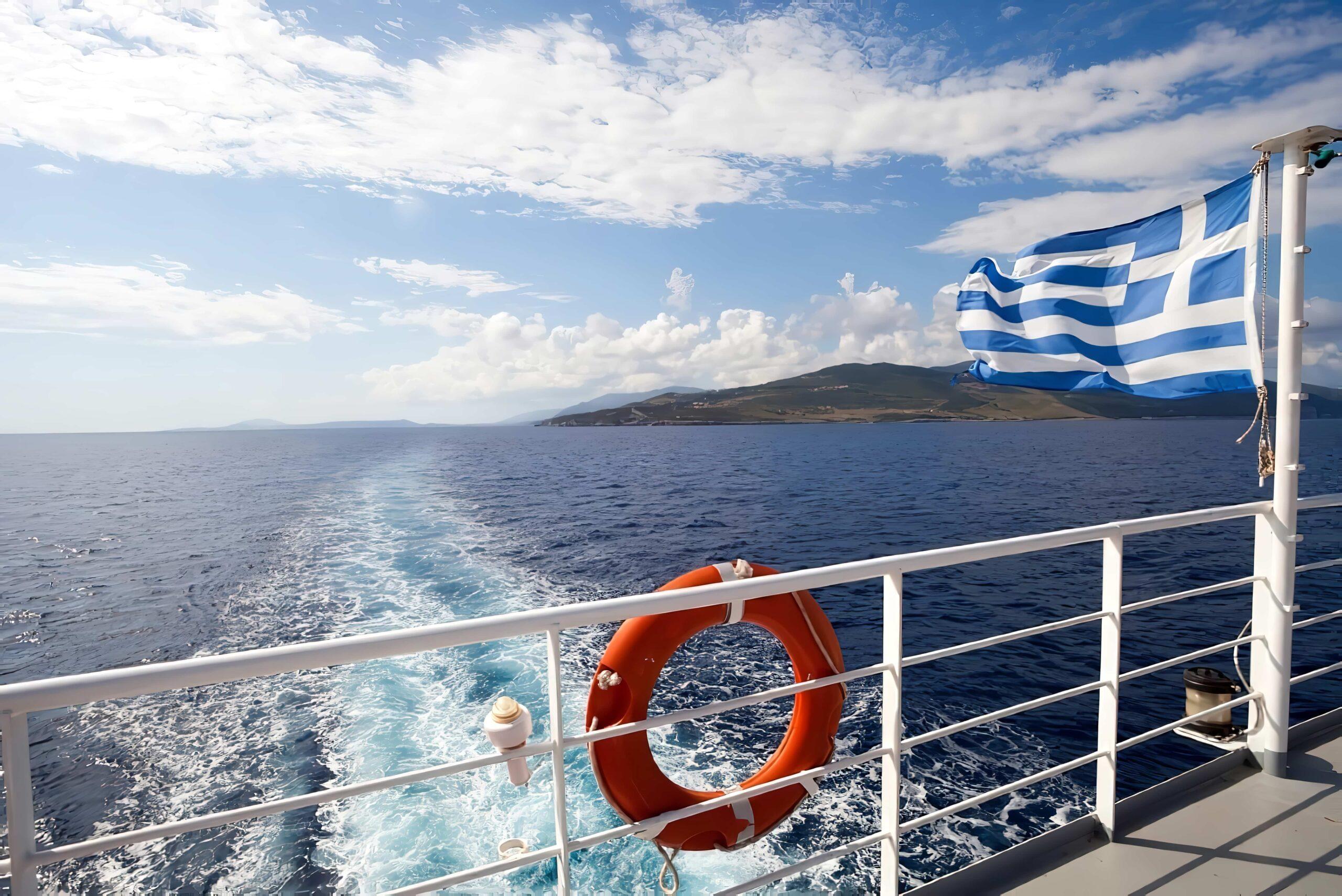 ferry grece Ikaria depuis Athènes en ferry