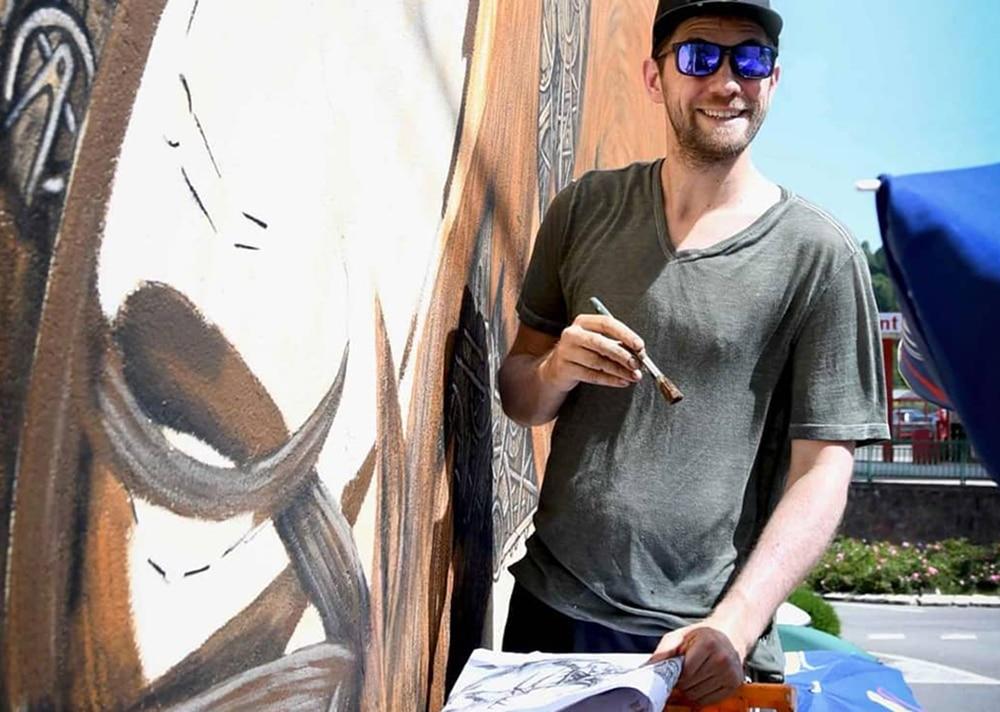 festival murs murs artiste de rue