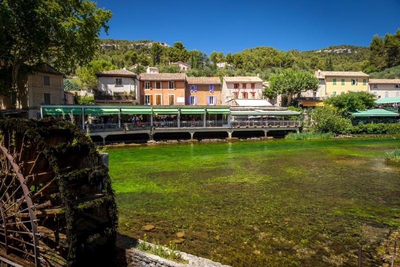Fontaine de vaucluse où loger Isle sur la Sorgue