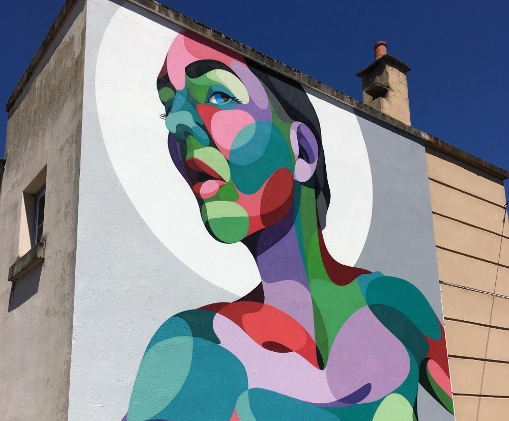 fresque du festival murs murs