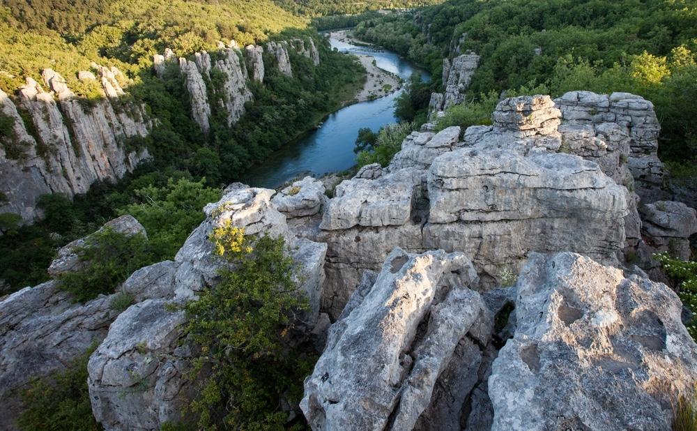 gorges de chassezac grimpe
