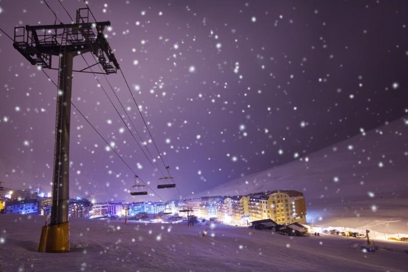 Grandvalira en Andorre pour le jour de l an