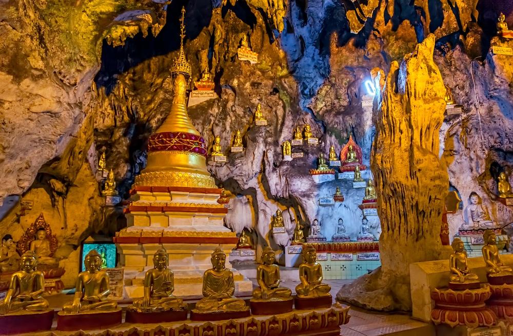 Grotte de Pindaya, Birmanie