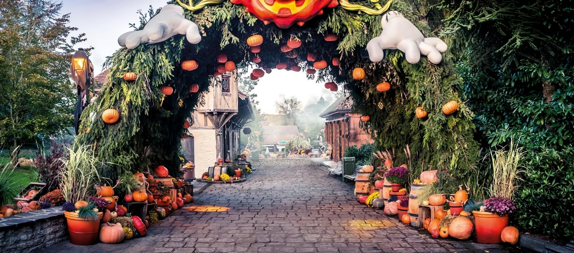 14 parcs d'attraction où fêter Halloween