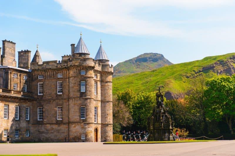 Histoire du Palais d'Holyrood à Edimbourg