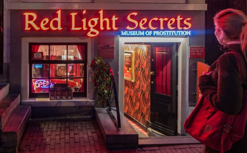 Histoire du Red Light Secrets à Amsterdam