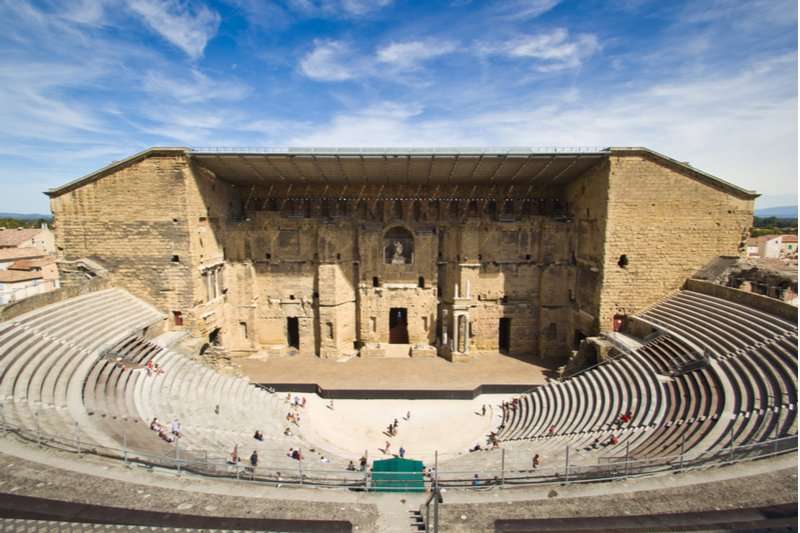 Histoire du Théâtre antique d'Orange