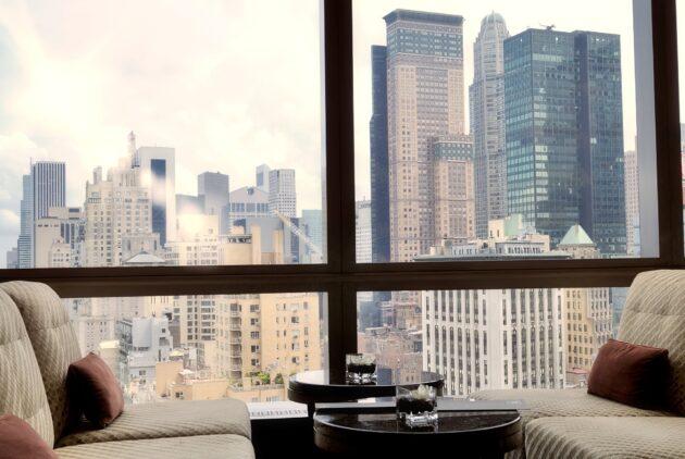 Les 12 meilleurs hôtels avec vue de New York