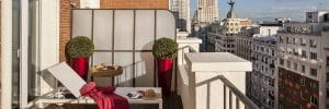 Les meilleurs hôtels avec vue de Madrid