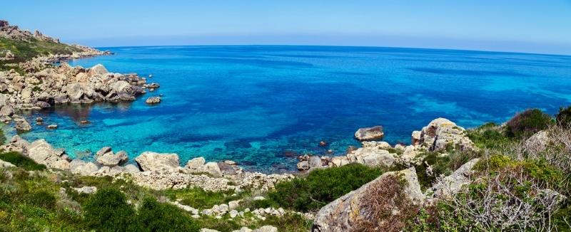 Ile de Gozo Blue Hole - plongée à Malte