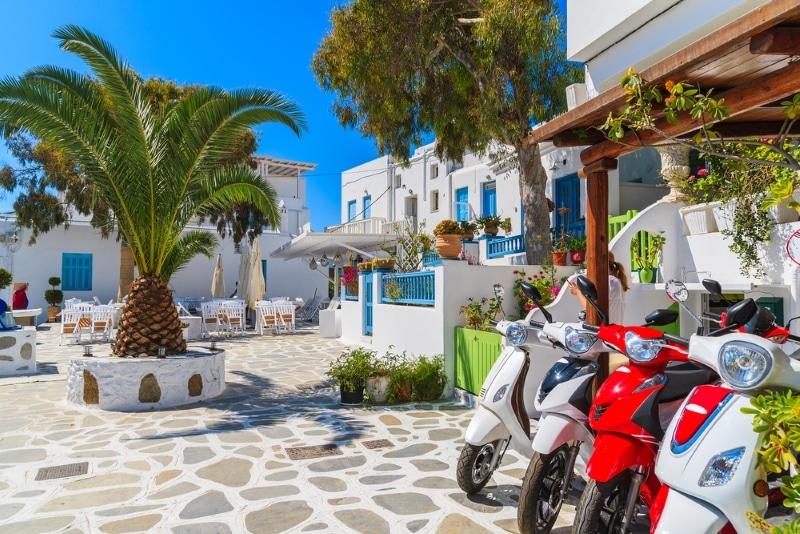 Ile de Paros, comment louer un scooter
