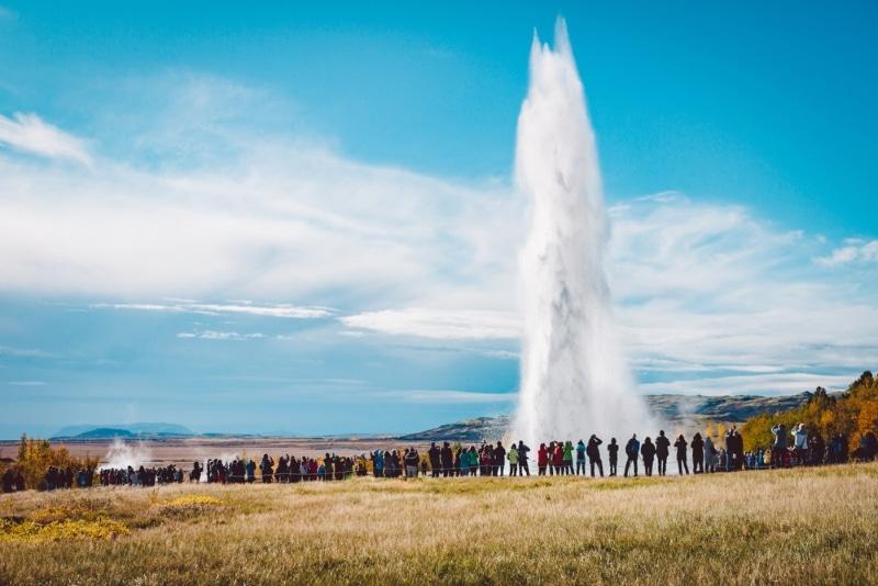 islande stokkur geyser