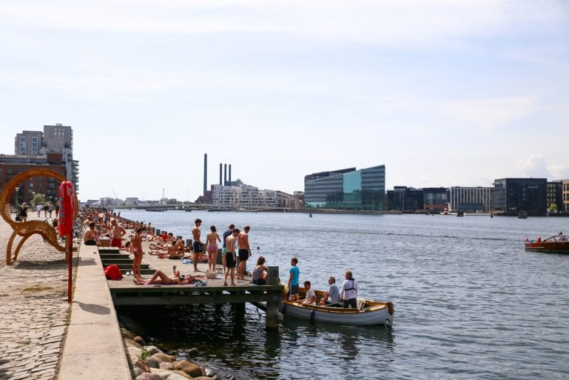 Islands Brygge, Havneparken, Copenhague