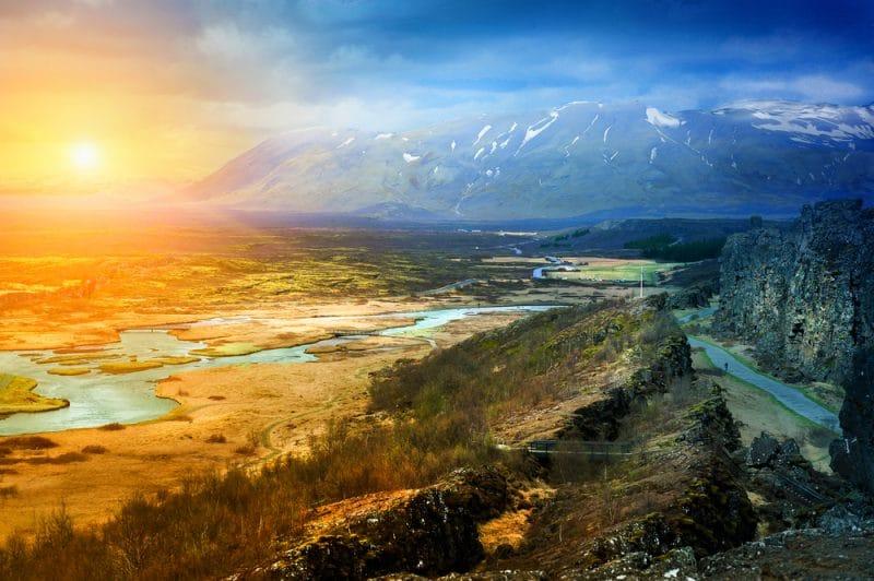 Itinéraire de randonnée à Skaftafell
