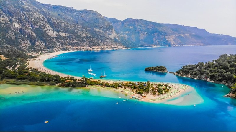 Lagon bleu, Turquie