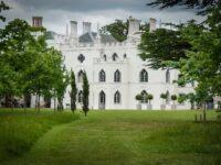 Jardins de cette maison originale dans l'ouest de Londres