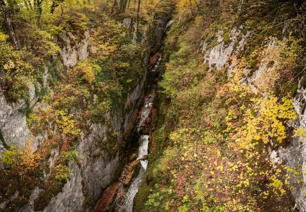 jura canyon de langouette