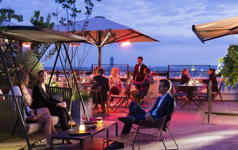 la terrass hotel rooftop paris