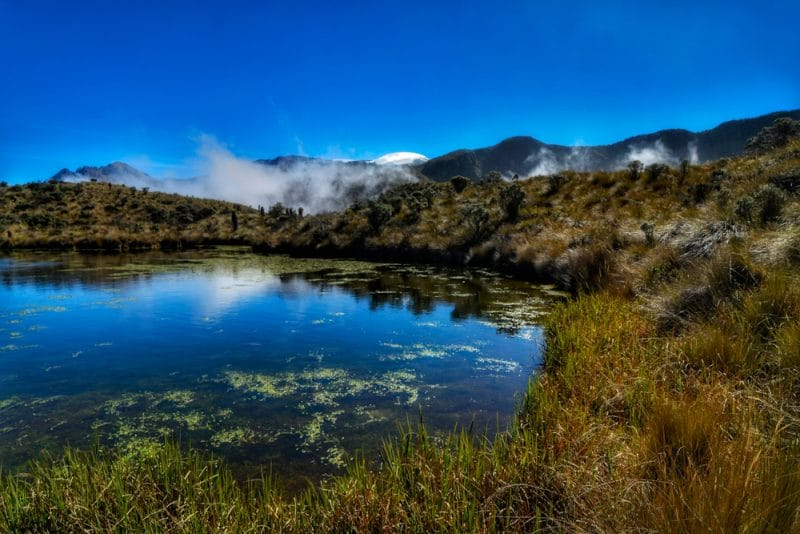 Lagune d'Otun
