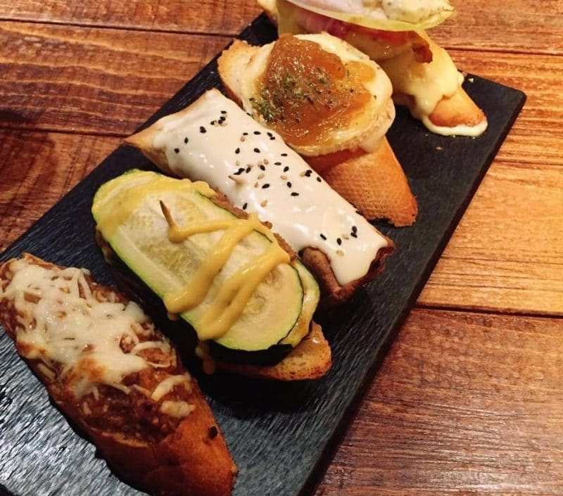 Lamiak, restaurant, tapas, Madrid