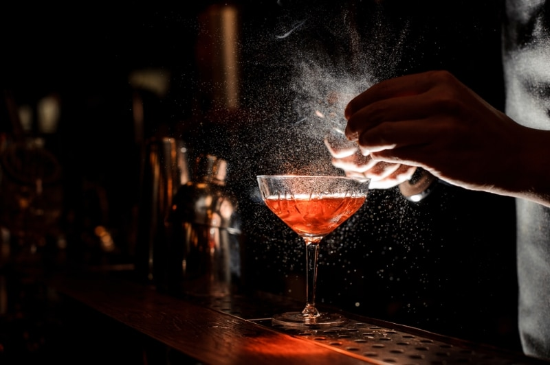 Le Lavomatic bar a cocktail à Paris