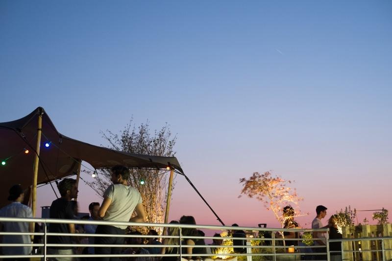 Le Perchoir à Paris, rooftop