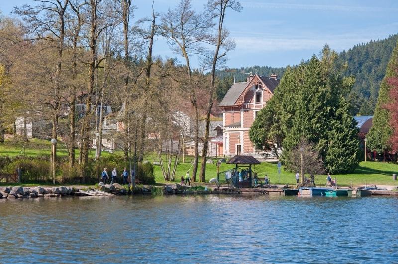 loger gerardmer lac