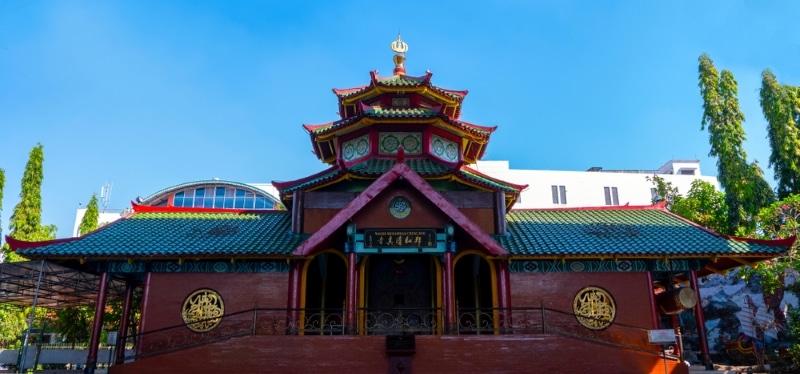 Surabaya mosquee chinoise