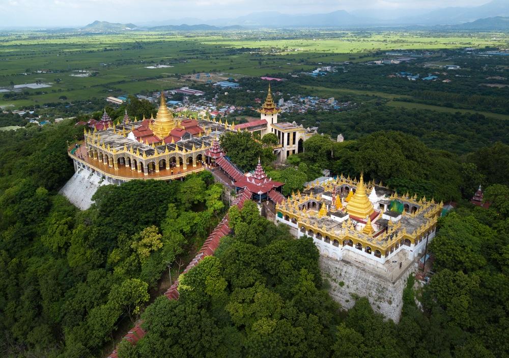 Mandalay Hill, Birmanie