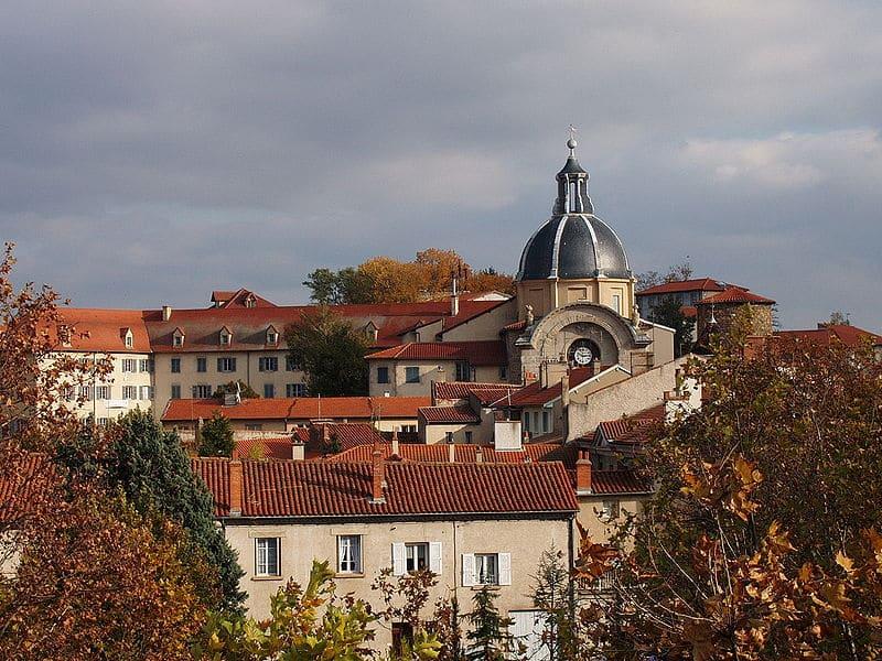 Marché de Montbrison dans la Loire