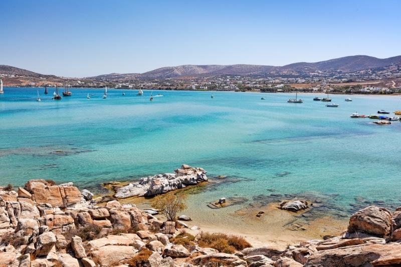 Les meilleures plages de Paros eaux turquoise