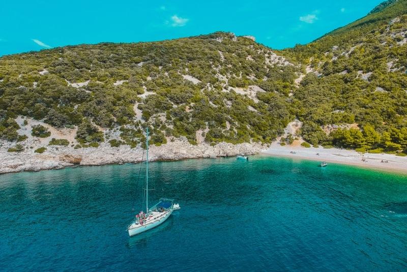 Modra Spilja Croatie