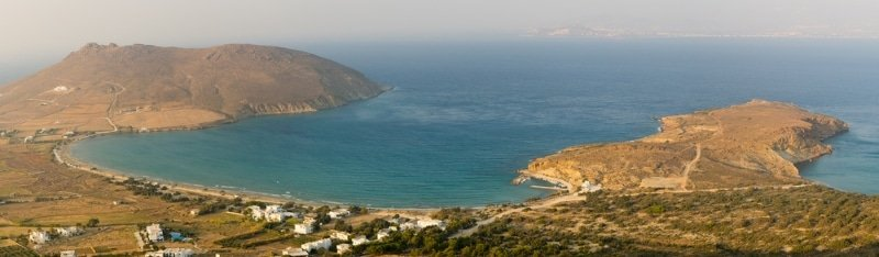 Molos beach, plage de Paros