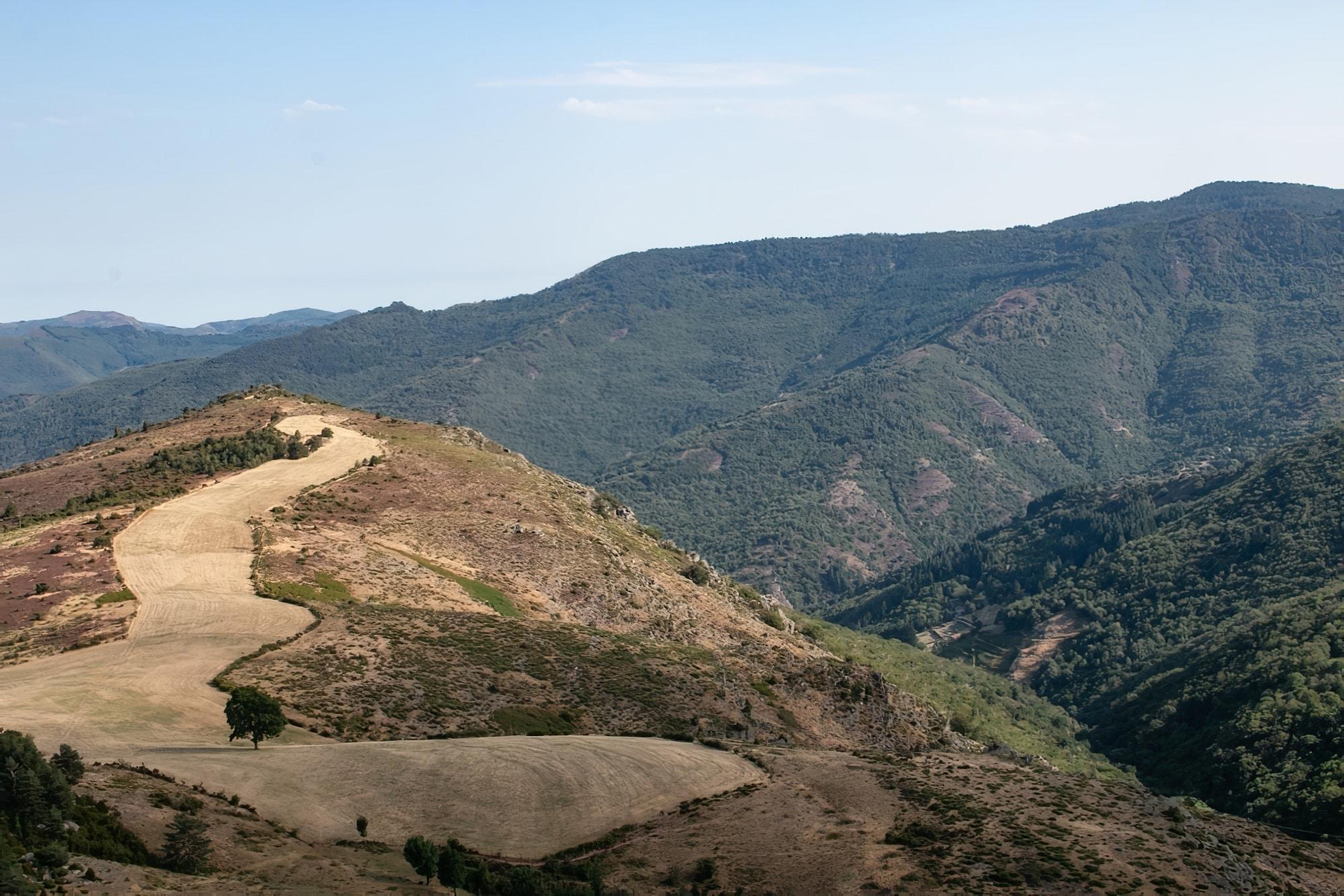 Montagnes cevennes grimper gard