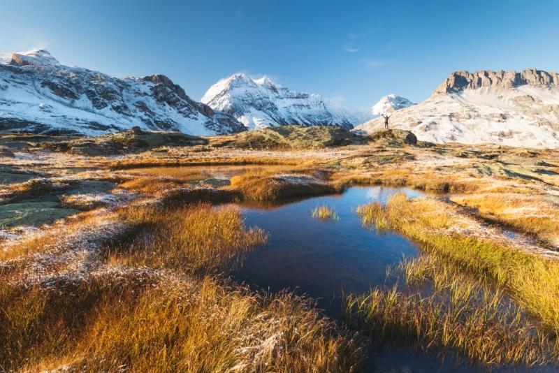montagnes et neige parc vanoise