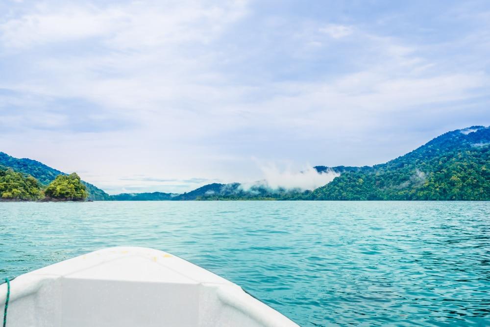 Baie proche de Nuqi, Colombie