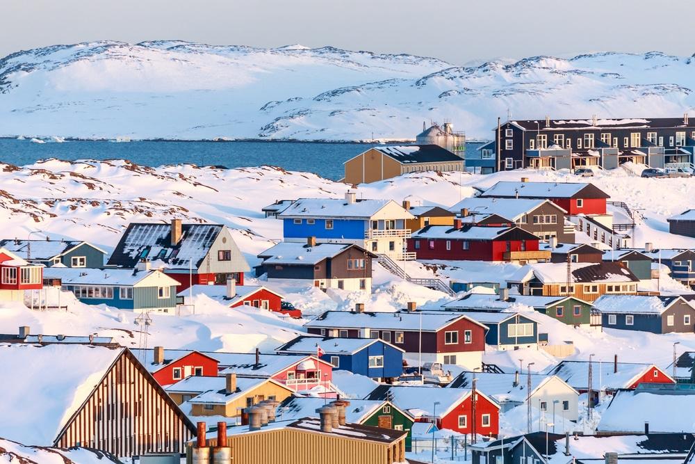 Ville de Nuuk, Groenland