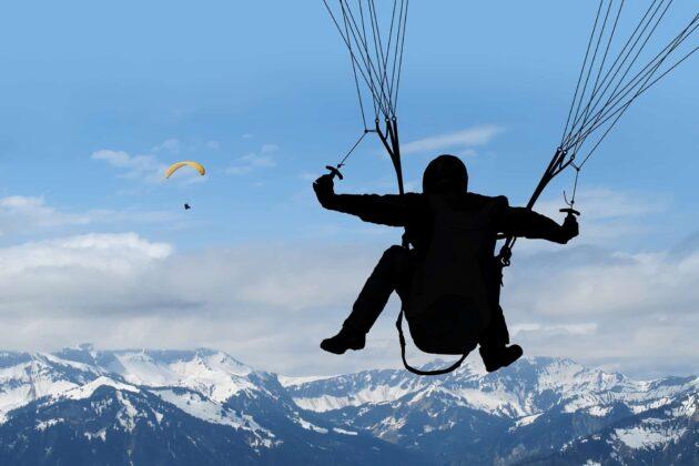 7 endroits où faire du parapente en Haute-Savoie