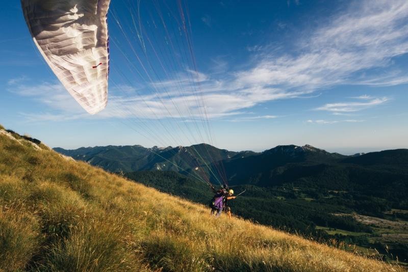 Parapente dans les Pyrénées en France
