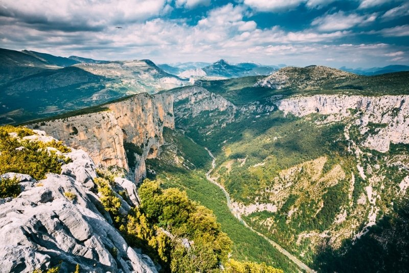 parc naturel du verdon canyon